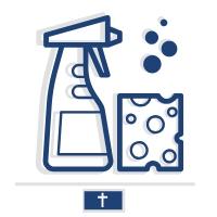 Sprzątanie i mycie pojedynczego grobu