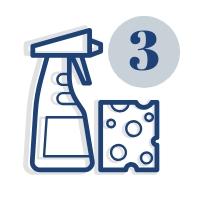 Cykliczne sprzątanie wraz z myciem 3 razy w roku