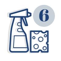 Cykliczne sprzątanie wraz z myciem 6 razy w roku