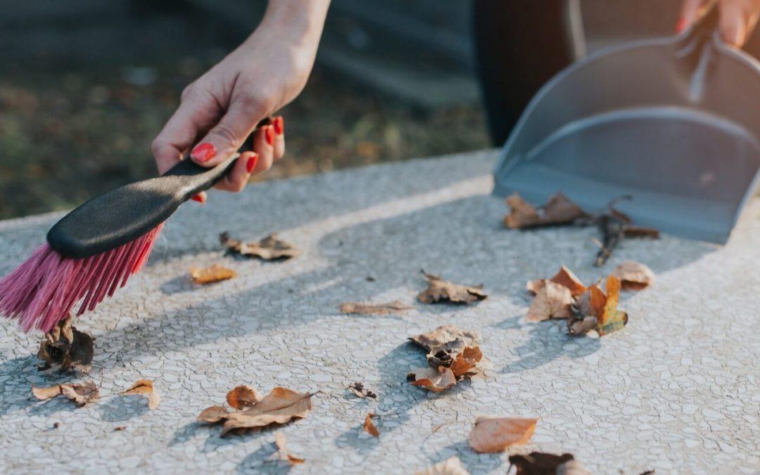 Sprzątanie grobu